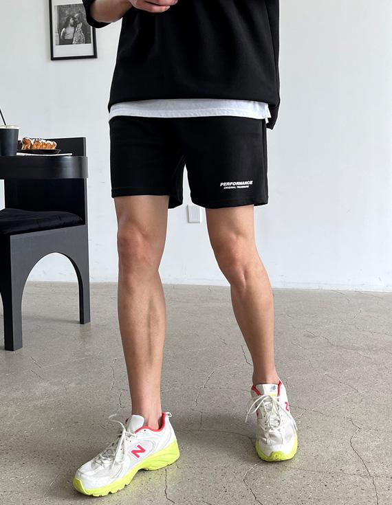 jogunshop-[텐션업 트레이닝 밴딩 반바지Free(28~30)]♡韓國男裝褲子