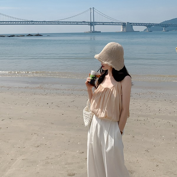 fine-thankyou-오토벙거지_2color♡韓國女裝飾品