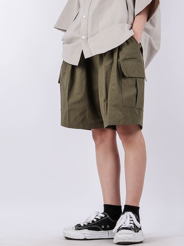 justyoung-HD Muse Cargo Shorts (3color)♡韓國男裝褲子