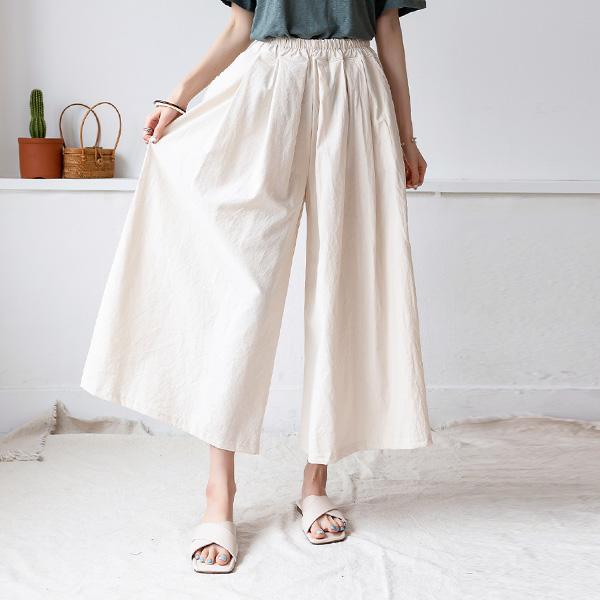 misscandy-[no.20640 올밴딩 핀턱주름 밴딩바지]♡韓國女裝褲