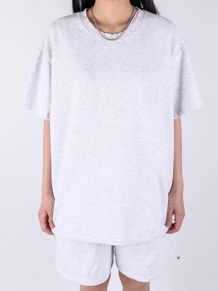 justyoung-PG Setup String Round Short Sleeve Tee (3color)♡韓國男裝上衣