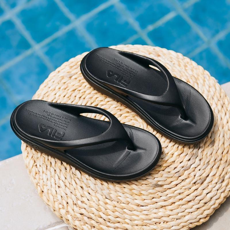 韓國FILA SUFFY THONG 拖鞋 (黑色)