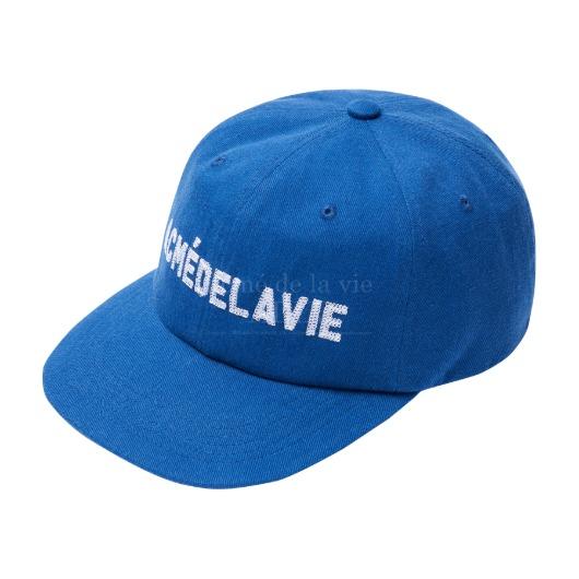 acmedelavie-[아크메드라비] ADLV STITCH EMBROIDERY BALL CAP BLUE♡韓國男裝飾品