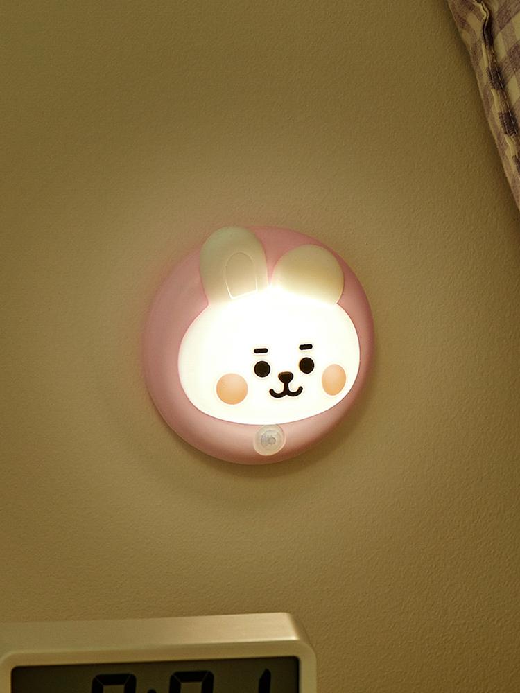 라인프렌즈 BT21 COOKY BABY  感應燈