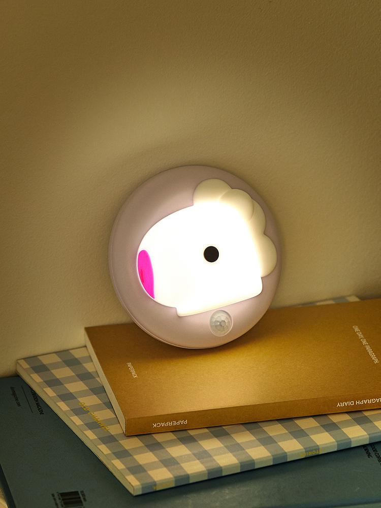 라인프렌즈 BT21 MANG BABY  感應燈