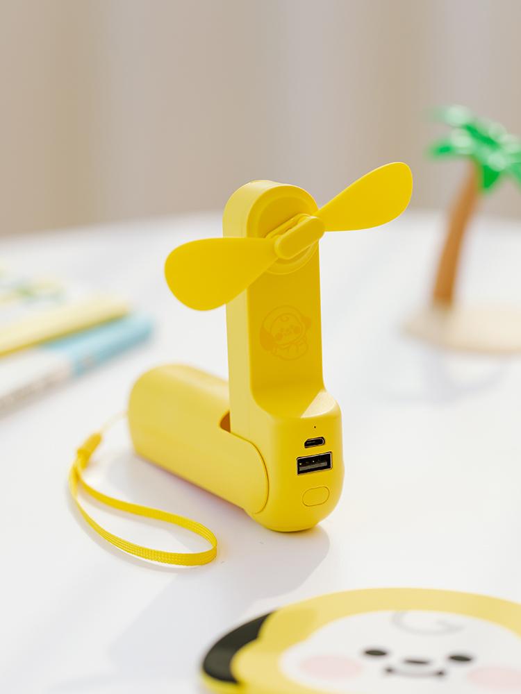 라인프렌즈 BT21 CHIMMY BABY 手提電風扇