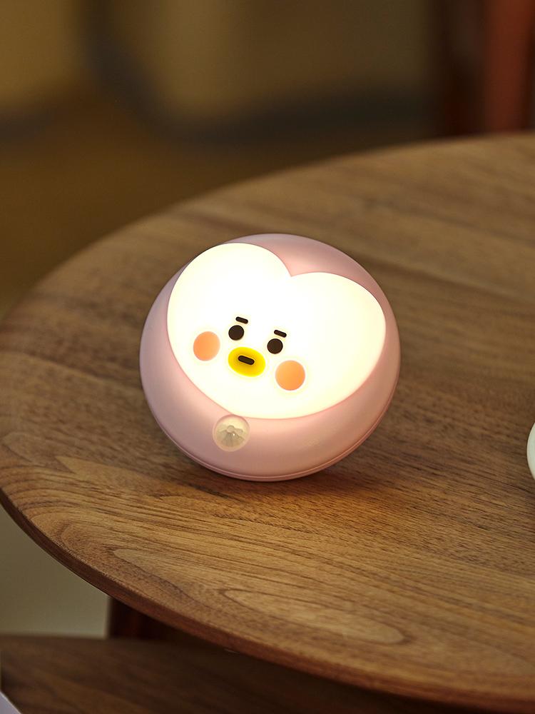 라인프렌즈 BT21 TATA BABY  感應燈