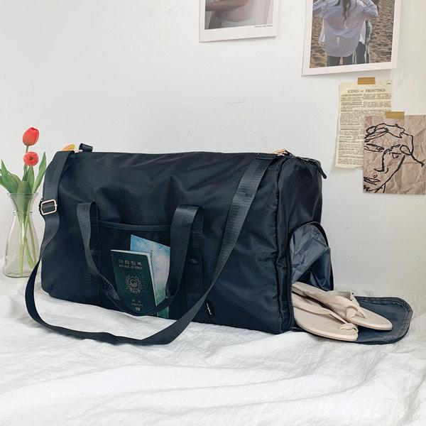 everytail-[자체제작] 멀티 보스턴백 캐리어 결합 여행용 트레블백♡韓國女裝袋