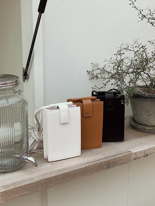 slowand-코어 탄탄 square mini bag - 3 color♡韓國女裝袋