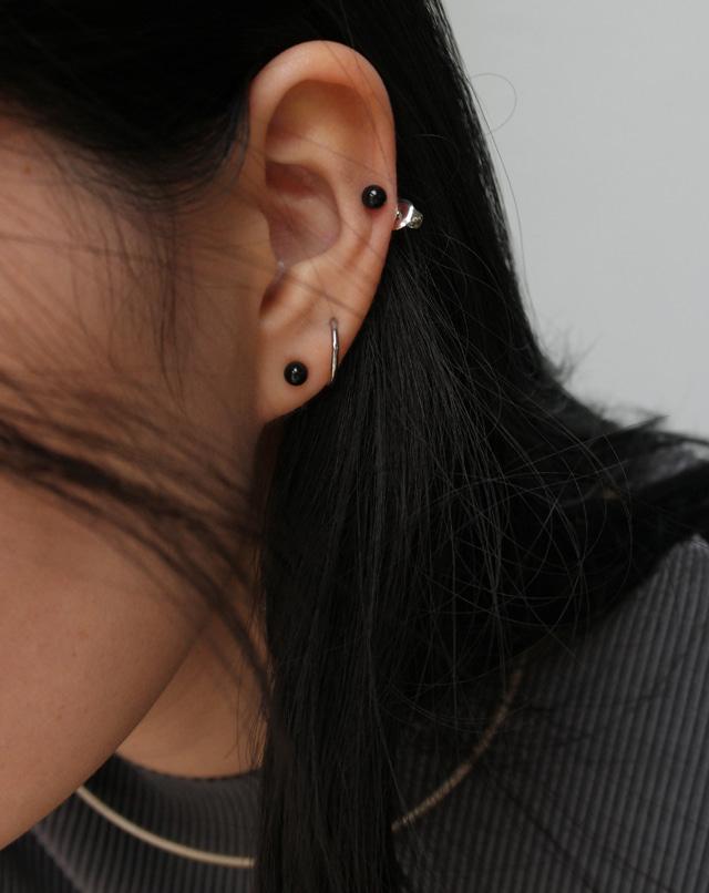 dreseoul-[E431] black is earring - DRE♡韓國女裝飾品