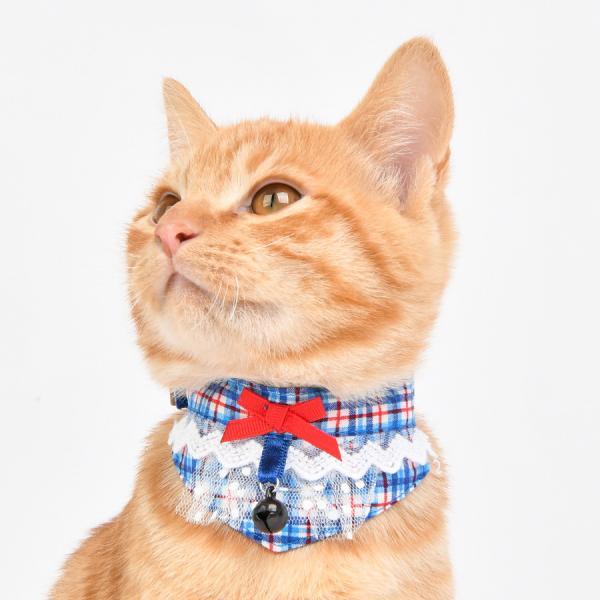 jeramypet-고양이 넥스카프 로맨틱 스카프 (CAUA-SC9493)♡寵物衫