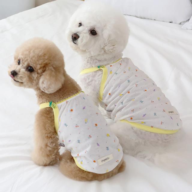 jeramypet-이츠독 아임파인 오가닉 나시티♡寵物衫