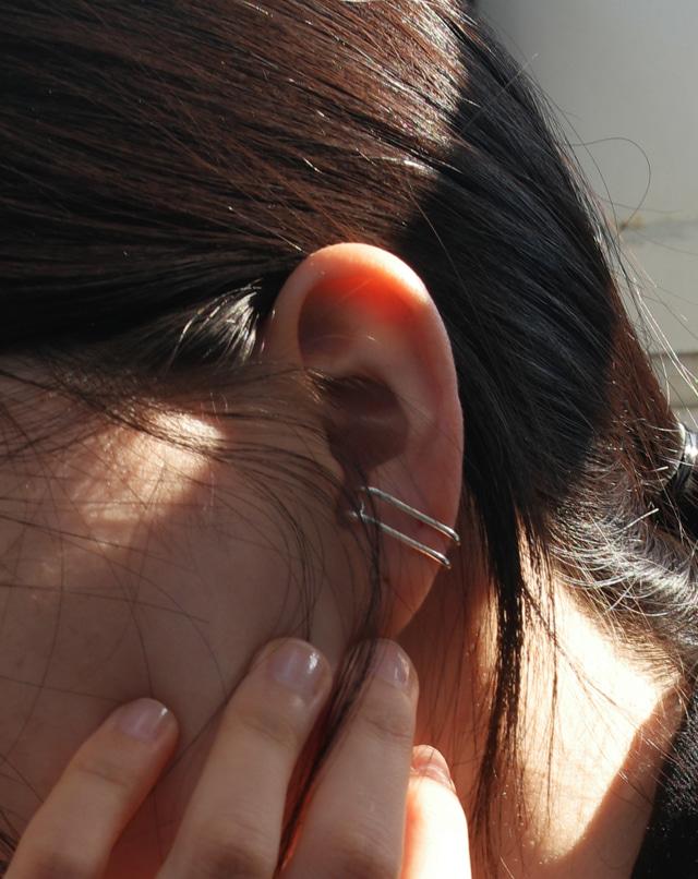 dreseoul-[E436] simple line earring - DRE♡韓國女裝飾品
