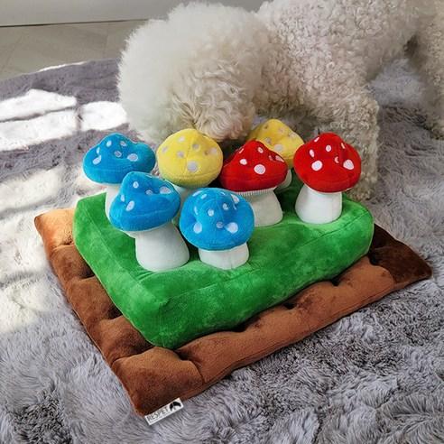 리스펫 버섯뽑기 강아지 노즈워크 장난감