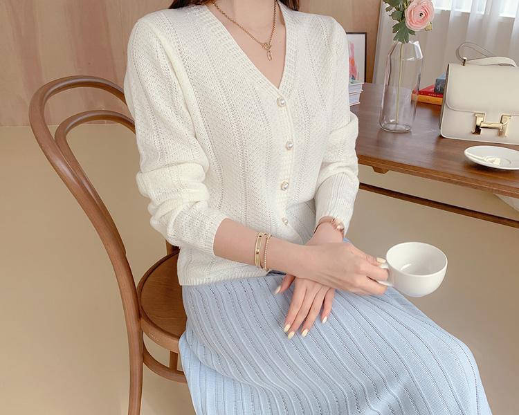 tomnrabbit-[*버밍진주가디건[3color]]♡韓國女裝外套