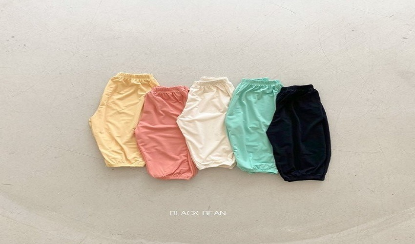 lovely2min-블랙빈 아이스팬츠(S~XL) - lovely2min♡韓國童裝褲
