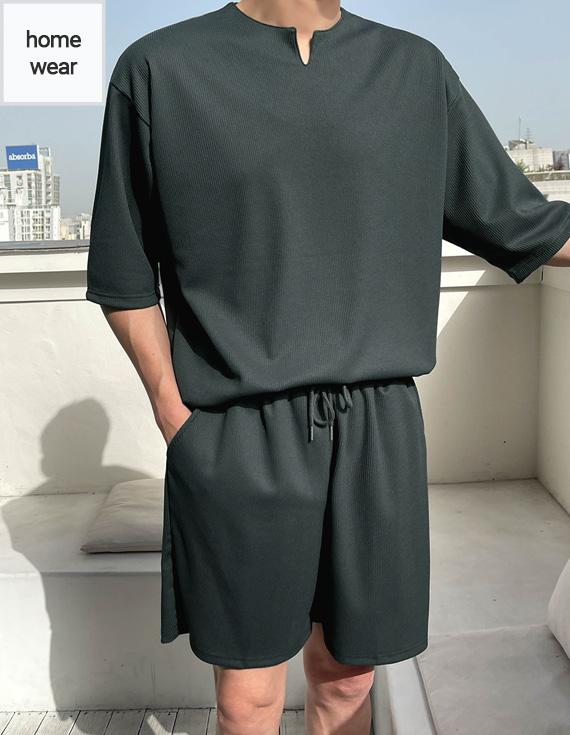 jogunshop-[빈텐 트임 루즈핏 반팔티셔츠Free(95~110)]♡韓國男裝上衣