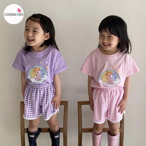 cooingkids-T구름베어티셔츠♡韓國童裝上衣