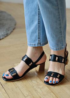 tiramisu-TR/찡장식물결샌들힐♡韓國女裝鞋