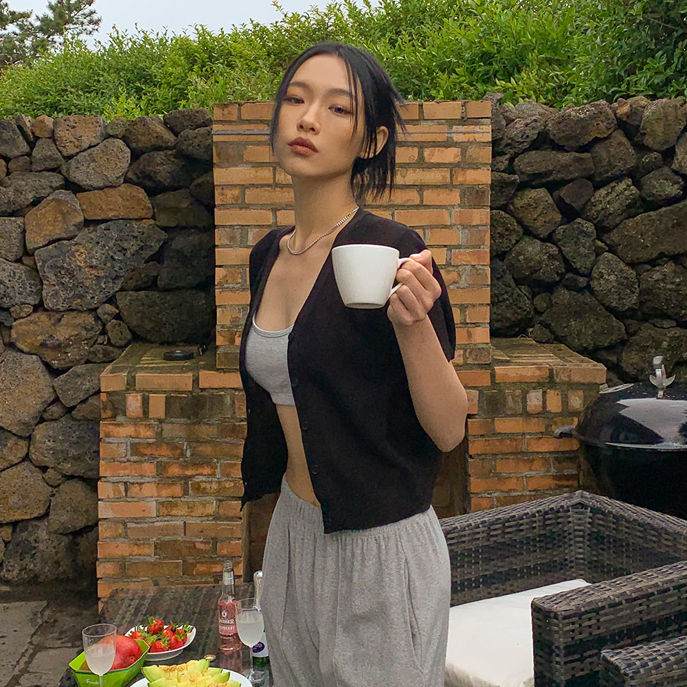 blackup-[MADE] 포에버 썸머 니트 가디건♡韓國女裝外套