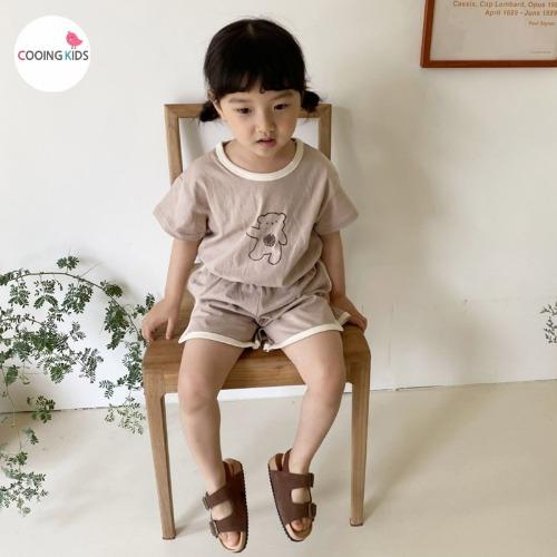 cooingkids-T안녕곰상하복세트♡韓國童裝套裝