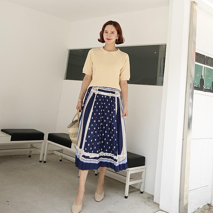 lemite-에르벨트 스커트♡韓國女裝裙