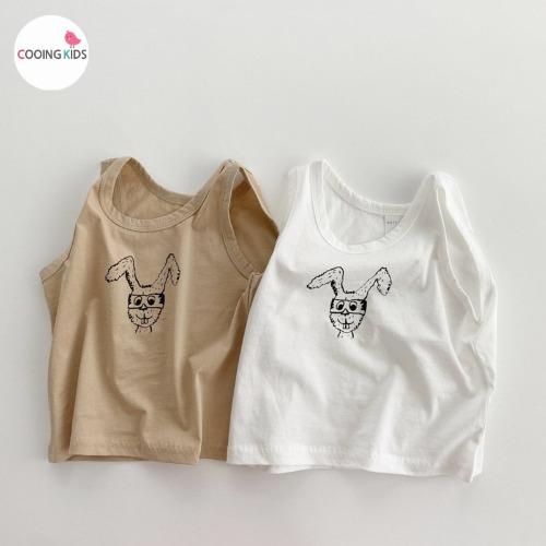 cooingkids-T고글실켓나시티셔츠♡韓國童裝上衣
