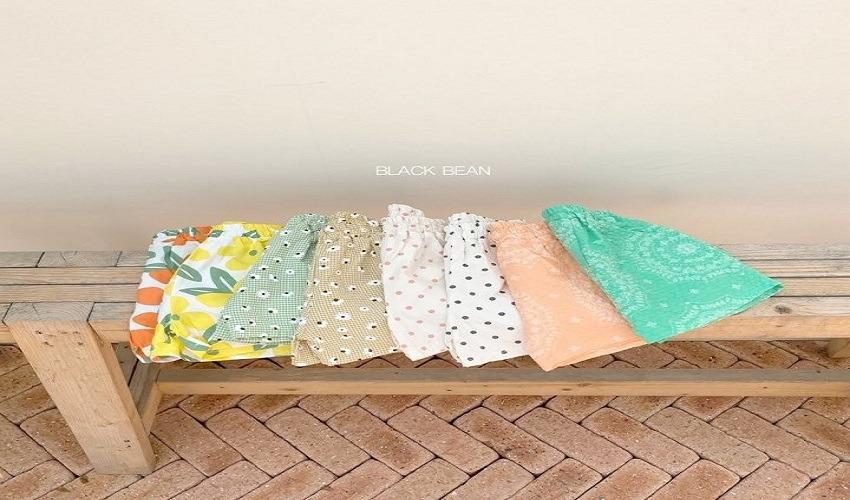 lovely2min-블랙빈 스팸반바지(S~XL) - lovely2min♡韓國童裝褲