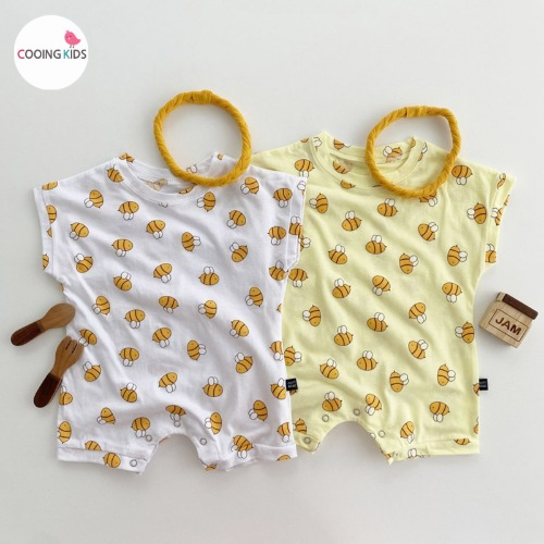 cooingkids-베이비옷 - T허니슈트(헤어밴드별도구매!!)♡韓國幼兒裝