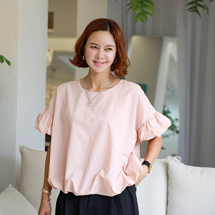 lemite-라이트벌룬 블라우스♡韓國女裝上衣