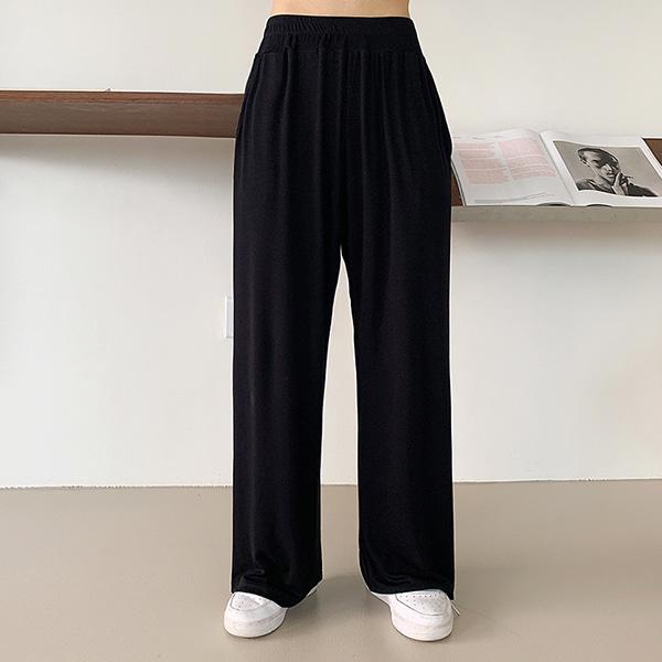 bonzishop-[무료배송]비터 와이드 트레이닝 팬츠 - pt (운영자강력추천)♡韓國女裝褲