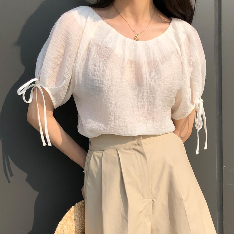 9-room-다엘 블라우스 (3color)♡韓國女裝上衣