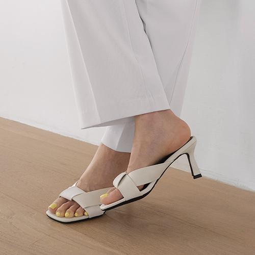 sappun-네로크 스트랩 뮬 슬리퍼 (7cm)♡韓國女裝鞋
