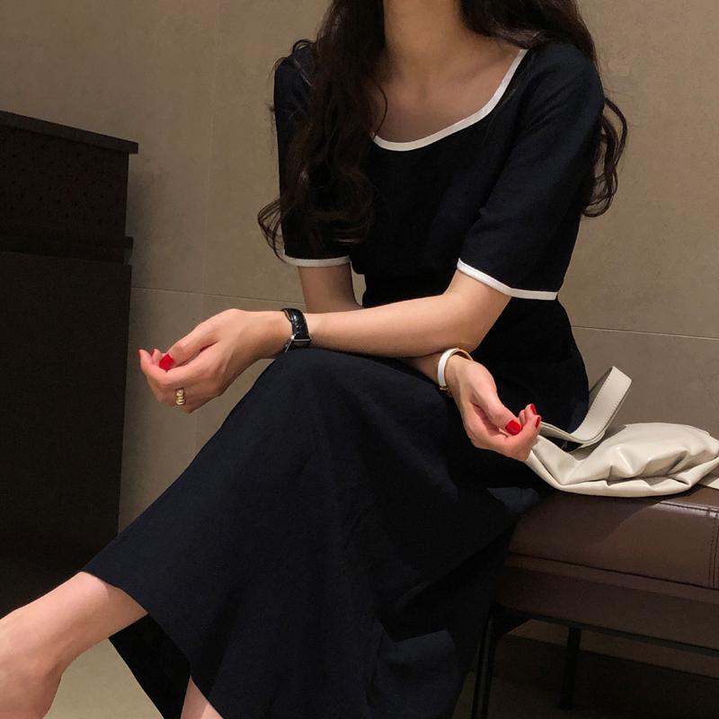 9-room-큐어즈 원피스 (2color)♡韓國女裝連身裙
