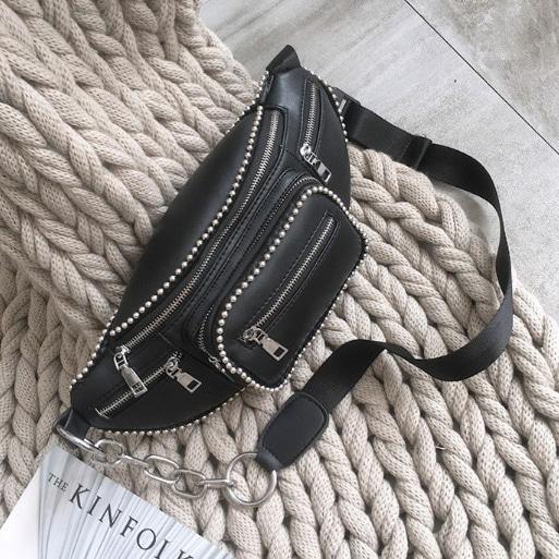 blancjo-스터드 크로스백_ib02797♡韓國女裝袋