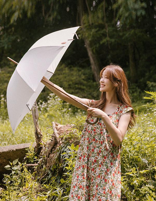 goroke-[플라워 백리본 ops *3c]♡韓國女裝連身裙