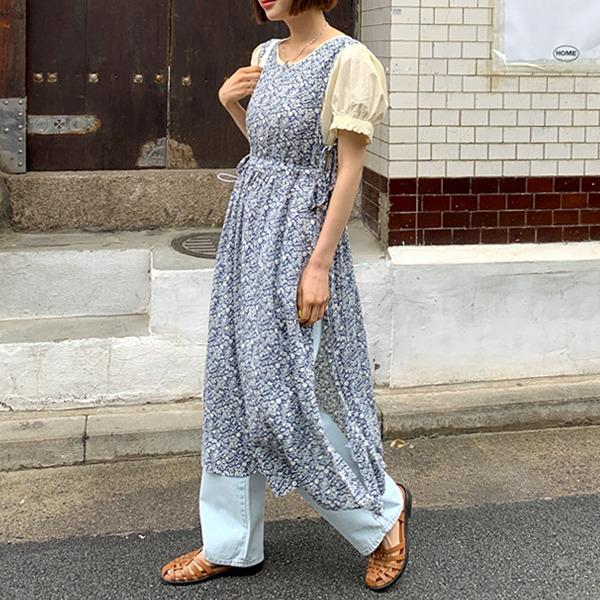 66girls-리프레이어드롱OPS♡韓國女裝連身裙