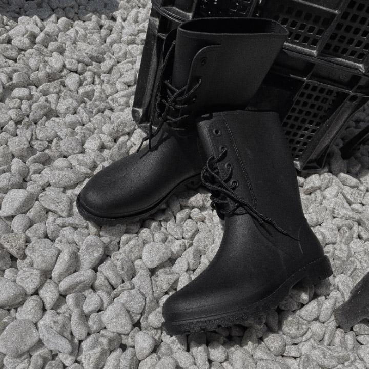 lagirl-레이스업숏레인부츠-shoes♡韓國女裝鞋