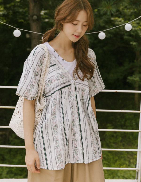 goroke-[델루나 로브셔츠*2c]♡韓國女裝上衣