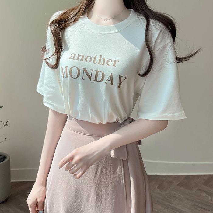 myfiona-어나더먼데이 찰랑 베이직티 a1692 - 러블리 로맨틱 1위 쇼핑몰 피오나♡韓國女裝上衣