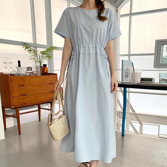 cherryville-[은은데일리 스트링롱원피스]♡韓國女裝連身裙