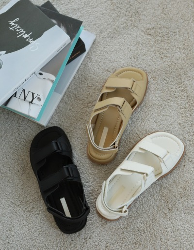 indibrand-벨크로 샌들 (수입)♡韓國女裝鞋