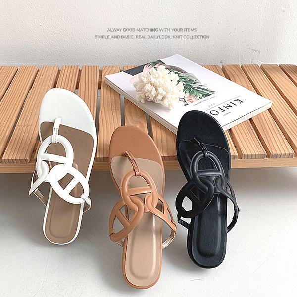 chicfox-샹달 비치쪼리샌들♡韓國女裝鞋