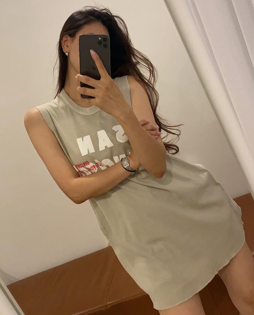 myclassy-San Fran Sleeveless♡韓國女裝上衣