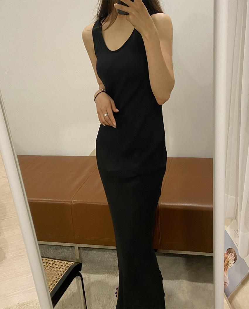myclassy-kayla slip dress *[black]♡韓國女裝連身裙