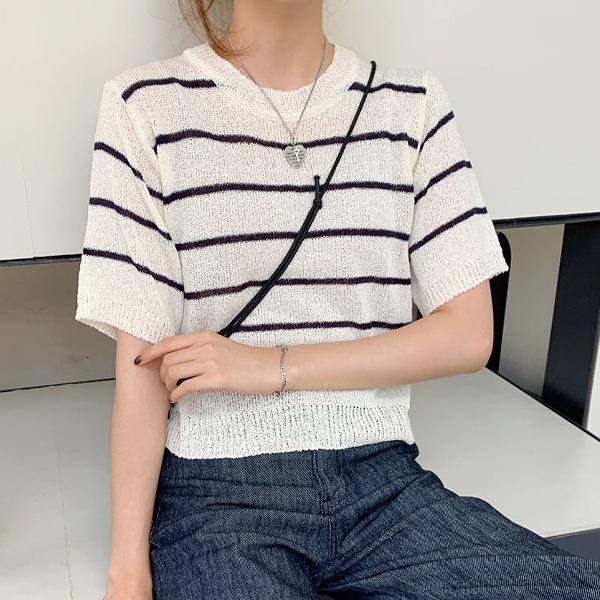 66girls-스탠단부클니트T♡韓國女裝上衣