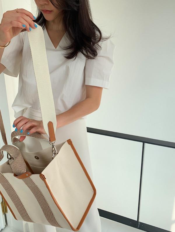 ssumj-by ssumj. 모던 턱 블라우스(3col)♡韓國女裝上衣
