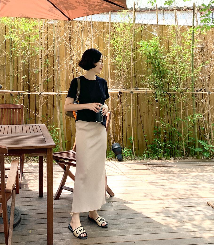 cocoblack-[썸머 플리츠sk]♡韓國女裝褲