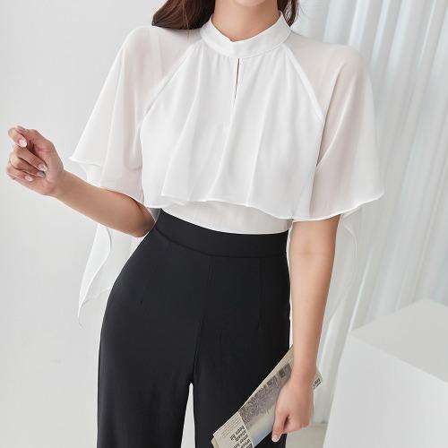 marlangrouge-지오프릴점프수트♡韓國女裝褲