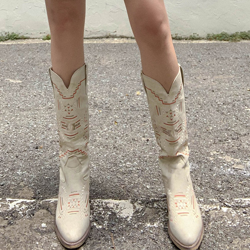 unbutton-[오르테가 하이 웨스턴-sho]♡韓國女裝鞋